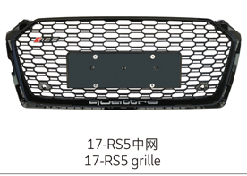 17-19 RS5 Grille