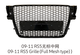 09-11 RS5 Grille
