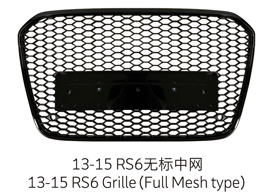 13-15 RS6 Grille
