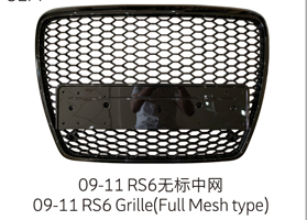 09-12 RS6 Grille